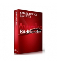 Bitdefender Small Office Security (Client Security + File Server) 1 AN Tarif 10 à 24 LFBDSOS1K1010