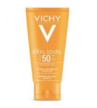 Vichy IDEAL SOLEIL Emulsion Anti-brillance Toucher Sec SPF 50