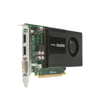 HP NVIDIA Quadro K2000 2GB DL-DVI+2xDP C2J93AA