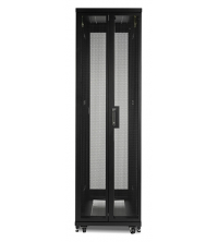 APC NetShelter SV 42U 600mm Wide x 1060mm Deep Enclosure with Sides, Black, Single Rack Unassembled AR2400FP1