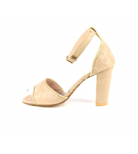 Sandales femme Beige