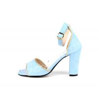 Sandales femme Bleu clair