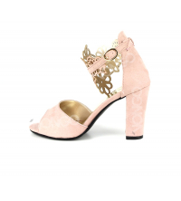 Sandales femme Rose Pâle
