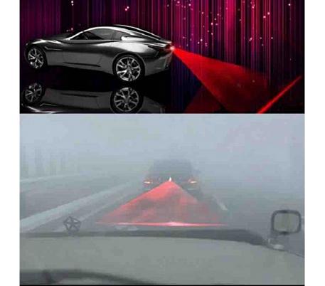 led anti collision led lampe rouge arri re pour voiture. Black Bedroom Furniture Sets. Home Design Ideas
