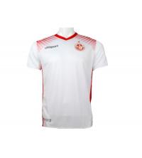 Maillot Officiel Equipe Nationale de Tunisie Football 2017-2018 Blanc