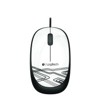 Logitech Mouse M105 Souris Filaire USB White 910002944