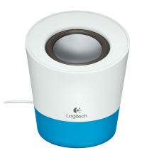 Logitech Speaker Z-50 Bleu Compact et mobile, le mini haut-parleur Z50 offre un son étonnamment puissant. 980000806