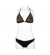 Maillot 2 pièces, bikini Noir & Blanc imprimée