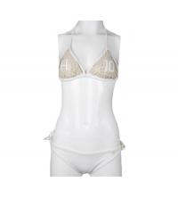 Maillot 2 pièces, bikini Blanc Dorée