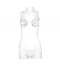 Maillot 2 pièces, bikini Blanc