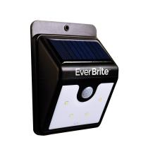 Motion solaire à énergie solaire extérieure - aucun outil requis, peler et coller, noir