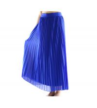 jupe plissée Bleu Roi