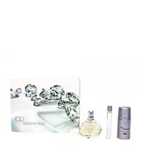 Coffret Cadeau Femme Diamond Parfum - 50ml + Déodorant - 60ml + Vaporisateur - 20ml