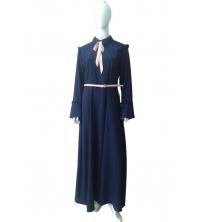 Robe Élégante Bleu Marine