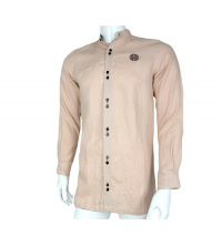 Chemise Homme Traditionnel Rose du sable