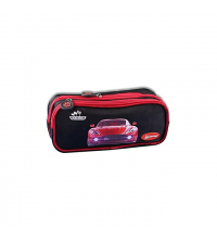 TROUSSE GEMUS DOUBLE FERMETURE TR15 BLACK / RED CAR
