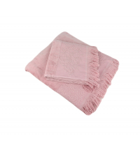 Ensemble serviette de bain ROSE CLAIR