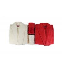 Coffret cap de bain double avec 2 serviette