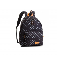 SAC A DOS EASTPAK PADDED NOIR/BLANC CARREAU