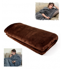 Couverture Marron Uni