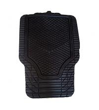 4 pcs Tapis Standard - PVC - Noir