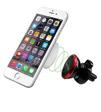 Support GSM Magnétique - Noir & Rouge