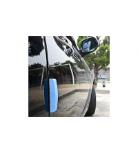 4pcs Car Door Scratch Protector Guard Adhesive - Bleu