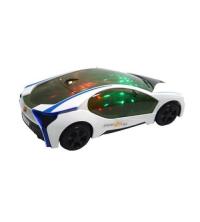 Voiture à piles son et lumière 3D.
