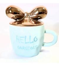 Mug Hello Gorgeous - Bleu Ciel