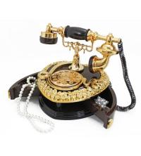 Téléphone Musical vintage-Boite A Bijoux Marron