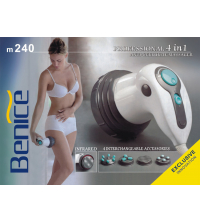 M 240 Professional 4 In 1 Anti -Cellulite Massager