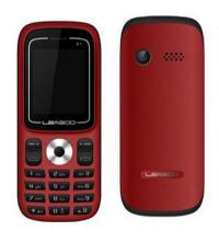 Téléphone Portable LEAGOO D1 Rouge
