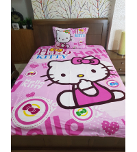 Parure de lit junior - Hello Kitty