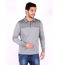 Exist Polo Homme - Gris - 402046