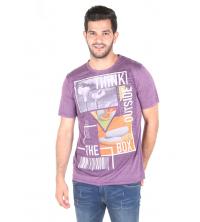 Exist T-shirt Homme - Violet - 402191