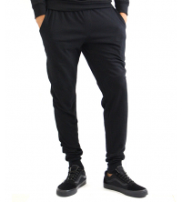 pantalon jogging molleton Noir