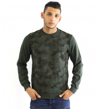 Pull Pour Homme Vert militaire