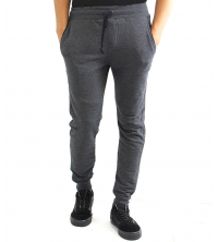 PANTALON JOGGING MOLLETON GRIS