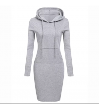 robe capuche pour femme