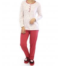 pyjama Pour femme Corail