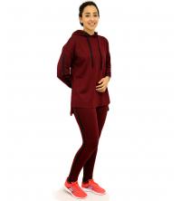 Jogging pour femme Rouge Bordeaux