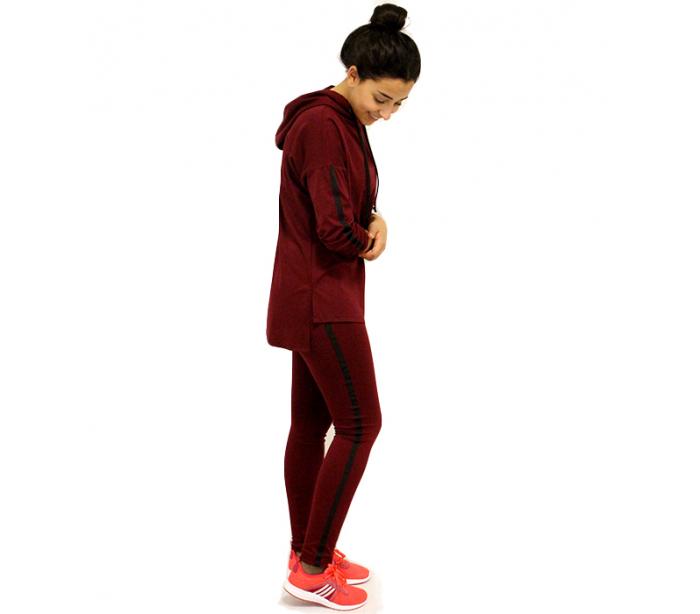 a0ccb62f05367 Jogging pour femme Rouge Bordeaux - Vongo.tn