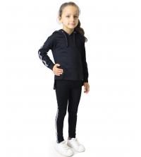 jogging pour fillette Noir