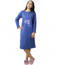 pyjama robe Bleu