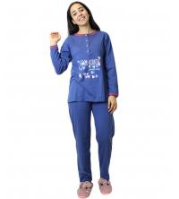 pyjama Pour femme Bleu