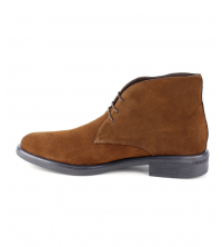 Bottine Homme Daim Marron Clair