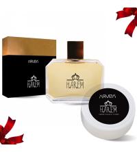 Lot Cadeau Femme - Parfum Harem 100ml - Crème de corps 30ml