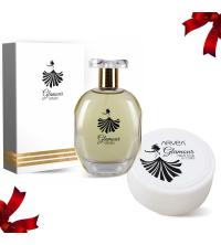 Lot Cadeau Femme - Parfum Glamour 100ml - Crème de corps 30ml