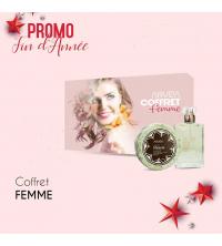 Coffret Cadeau Femme Parfum Eclat D'or 30ml Et Savon Miracle