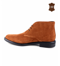 Bottine Homme Daim Camel